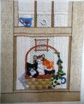 Cat in the window by Jasbir Jabbal