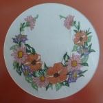 By Jasbir cross stitch flower