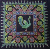 Peacock back by Shila Shah